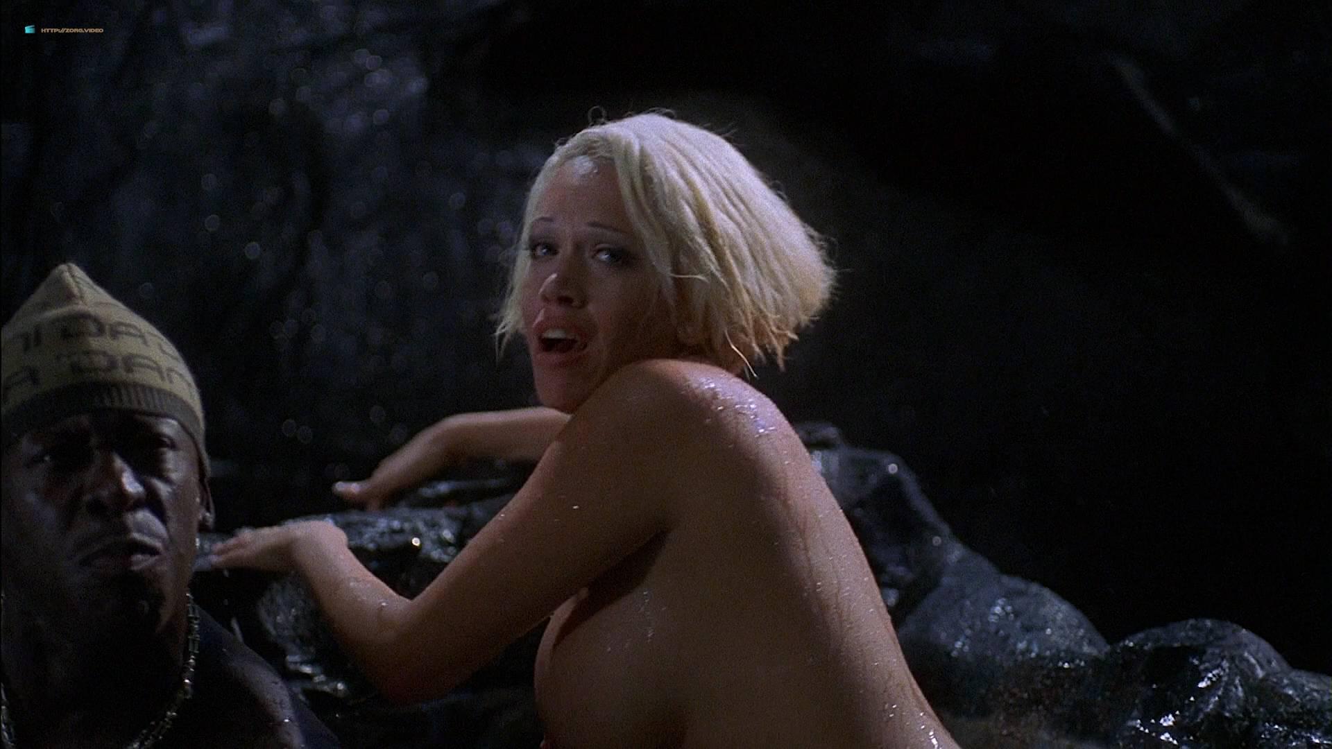 Fun hot naked tub