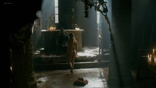 Alicia Agneson nude butt naked and some nipples - Vikings (2017) s5e3 HD 1080p Web (7)