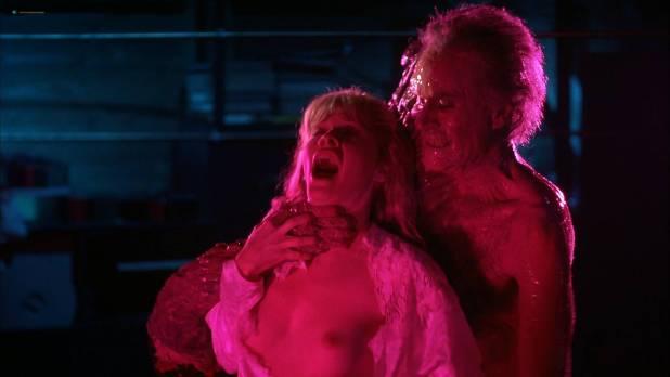 Barbara Crampton nude topless - From Beyond (1986) HD 1080p BluRay (13)