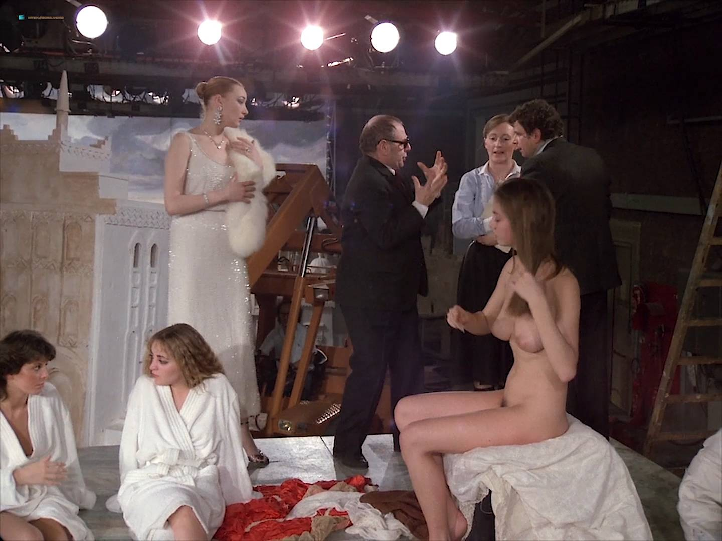 Isabelle Huppert nude Myriem Roussel nude full frontal others nude too - Passion (FR-1982) HD 1080p BluRay (15)