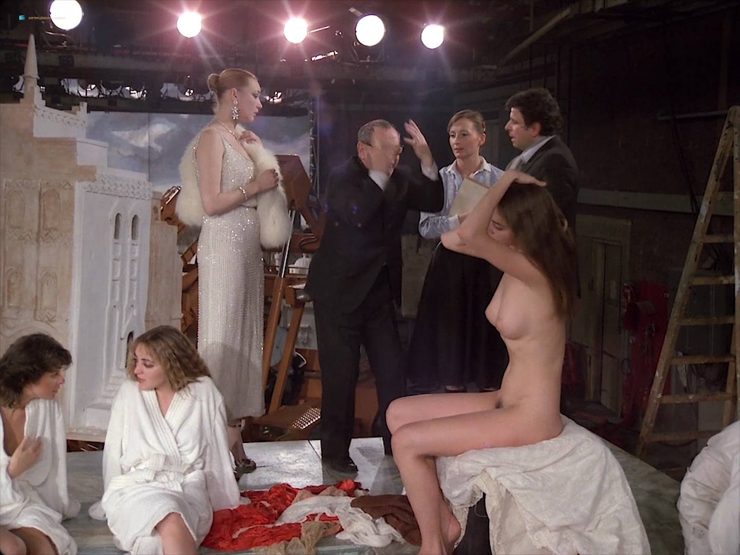 Isabelle Huppert nude Myriem Roussel nude full frontal others nude too - Passion (FR-1982) HD 1080p BluRay (14)
