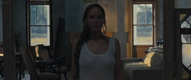 Jennifer Lawrence nude topless and Michelle Pfeiffer hot - Mother! (2017) HD 1080p Web (13)