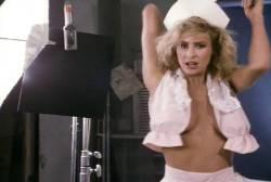 Kathleen Kinmont nude topless Toni Lee busty nude Laura Burkett nude in shower - Rush Week (1989) (15)
