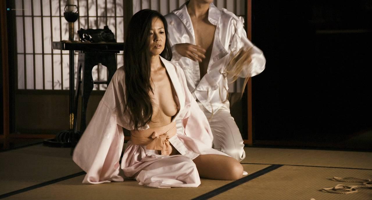 Maiko Amano nude bush Noriko Hamada and Rina Sakuragi nude full frontal - Hana to hebi Zero (JP-2014) HD 720p (14)