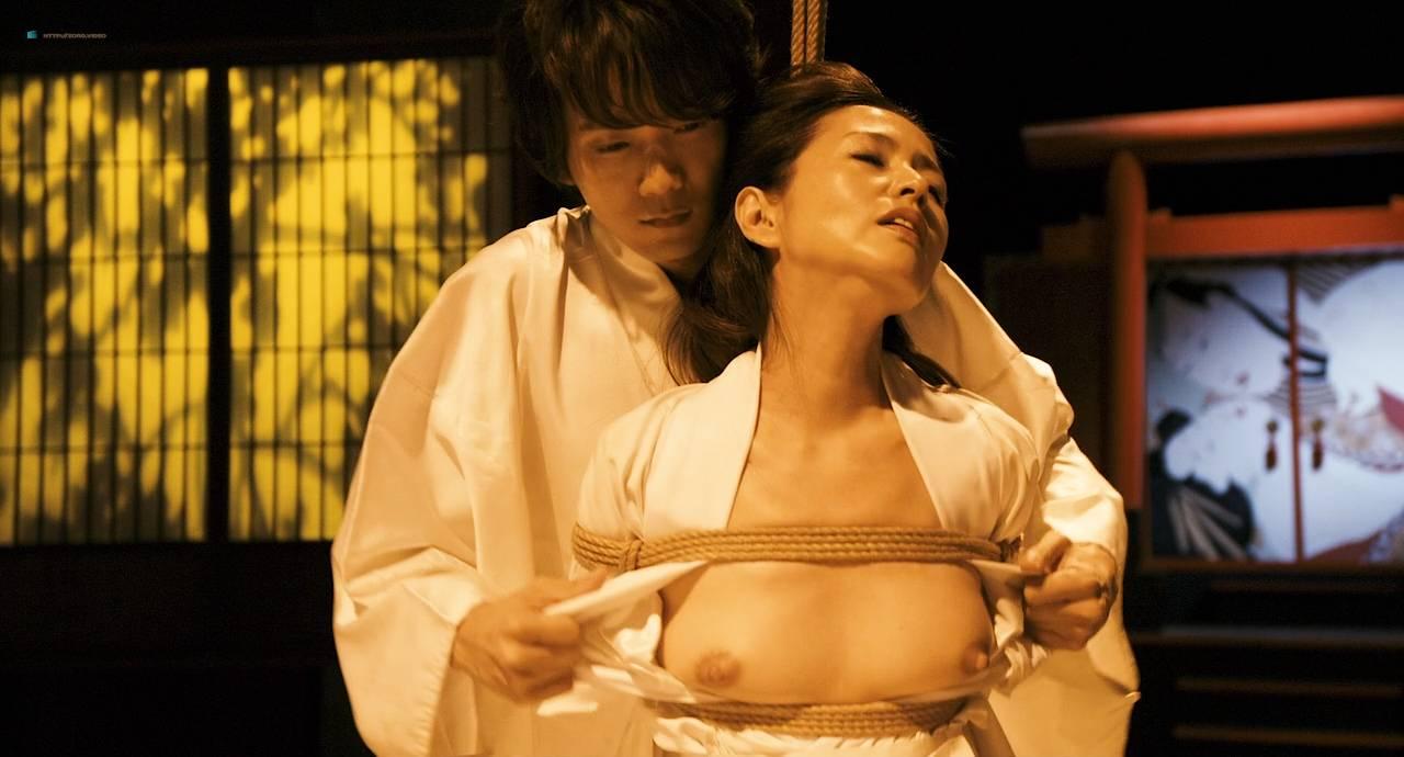Maiko Amano nude bush Noriko Hamada and Rina Sakuragi nude full frontal - Hana to hebi Zero (JP-2014) HD 720p (6)