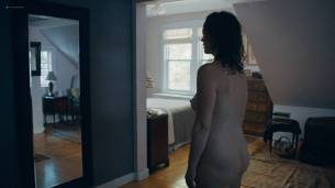 Rebecca Spence nude butt and boobs Malic White brief topless and Jessie Pinnick hot - Princess Cyd (2017) HD 1080p (9)