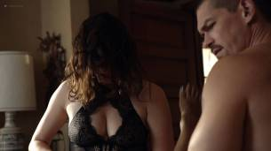 Shanola Hampton and Isidora Goreshter hot lesbian sex and threesome – Shameless (2017) s8e6 HD 1080p (3)