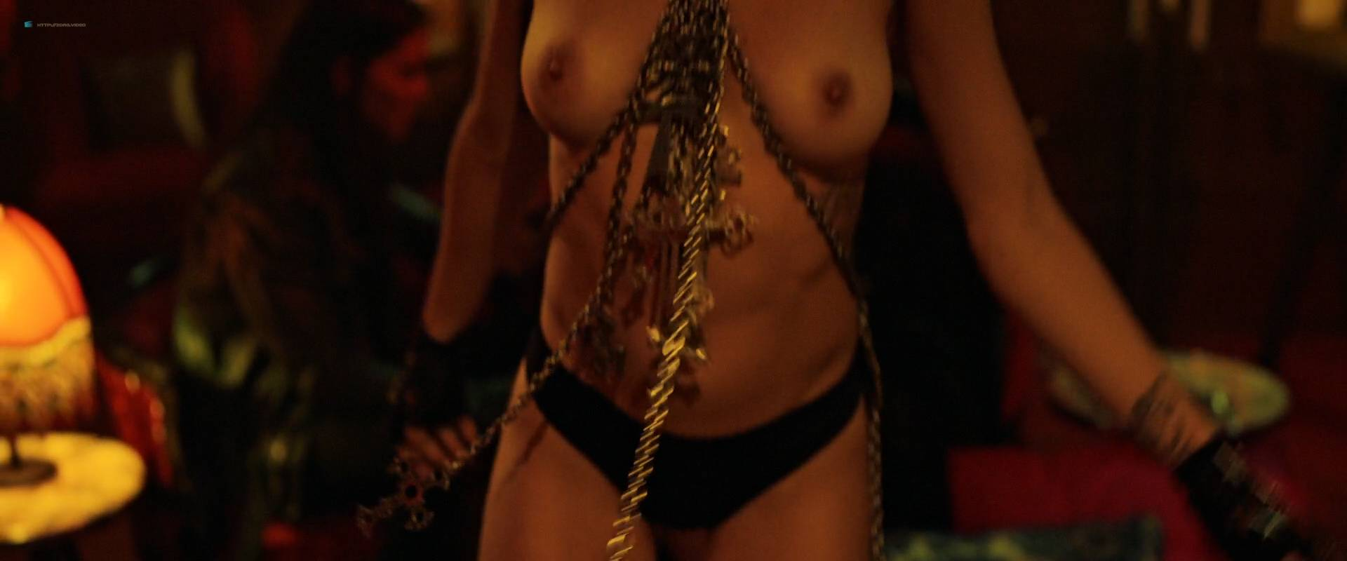 Jesse Sullivan nude topless Cortney Palm and others nude topless too - American Satan (2017) HD 1080p Web (10)