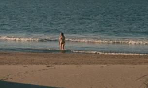Macha Méril nude topless Laurence Cortadellas nude in shower - Vagabond (FR-1985) HD 1080p (10)