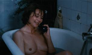 Macha Méril nude topless Laurence Cortadellas nude in shower - Vagabond (FR-1985) HD 1080p (8)