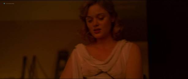 Rebecca Hall nude topless Bella Heathcote hot sex threesome - Professor Marston And The Wonder Women (2017) HD 1080p (15)