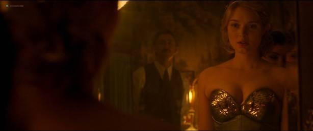Rebecca Hall nude topless Bella Heathcote hot sex threesome - Professor Marston And The Wonder Women (2017) HD 1080p (10)