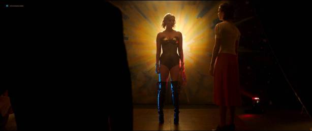 Rebecca Hall nude topless Bella Heathcote hot sex threesome - Professor Marston And The Wonder Women (2017) HD 1080p (9)