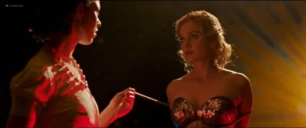 Rebecca Hall nude topless Bella Heathcote hot sex threesome - Professor Marston And The Wonder Women (2017) HD 1080p (7)