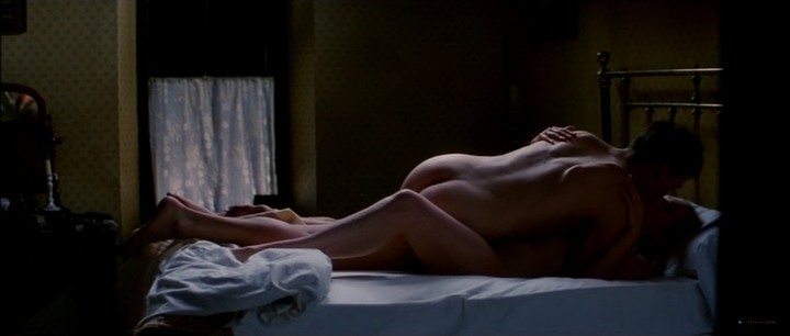 Kate Winslet nude bush and topless and Rachel Griffiths nude topless - Jude (1996) (1)