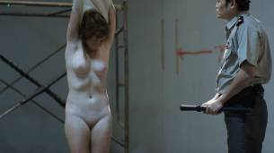 Kelly McCart nude full frontal Katrina Grey nude lesbian sex - Locked Up (2017) HD 1080p Web (12)