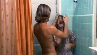 Barbara Mills nude topless and butt Sandy Dempsey and others nude topless - Blue Money (1972)