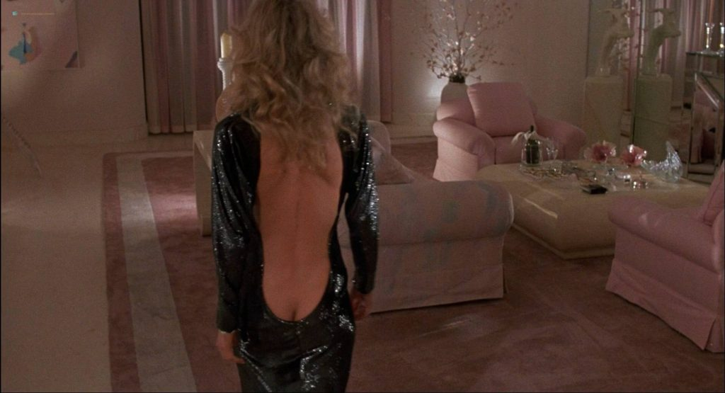 Lori Singer hot and sexy Carrie Fisher sexy underwear - The Man with One Red Shoe (1985) HD 1080p WEB (6)