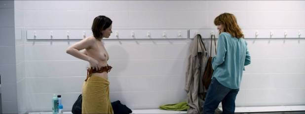 Olivia Chenery nude brief topless in one scene - 10x10 (2018) HD 1080p Web (7)