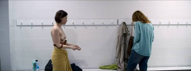 Olivia Chenery nude brief topless in one scene - 10x10 (2018) HD 1080p Web (5)