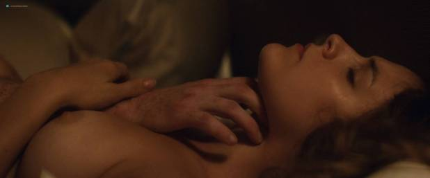 Riley Keough nude topless and sex Abbey Lee Kershaw nude butt - Welcome the Stranger (2018) HD 1080p Web (4)