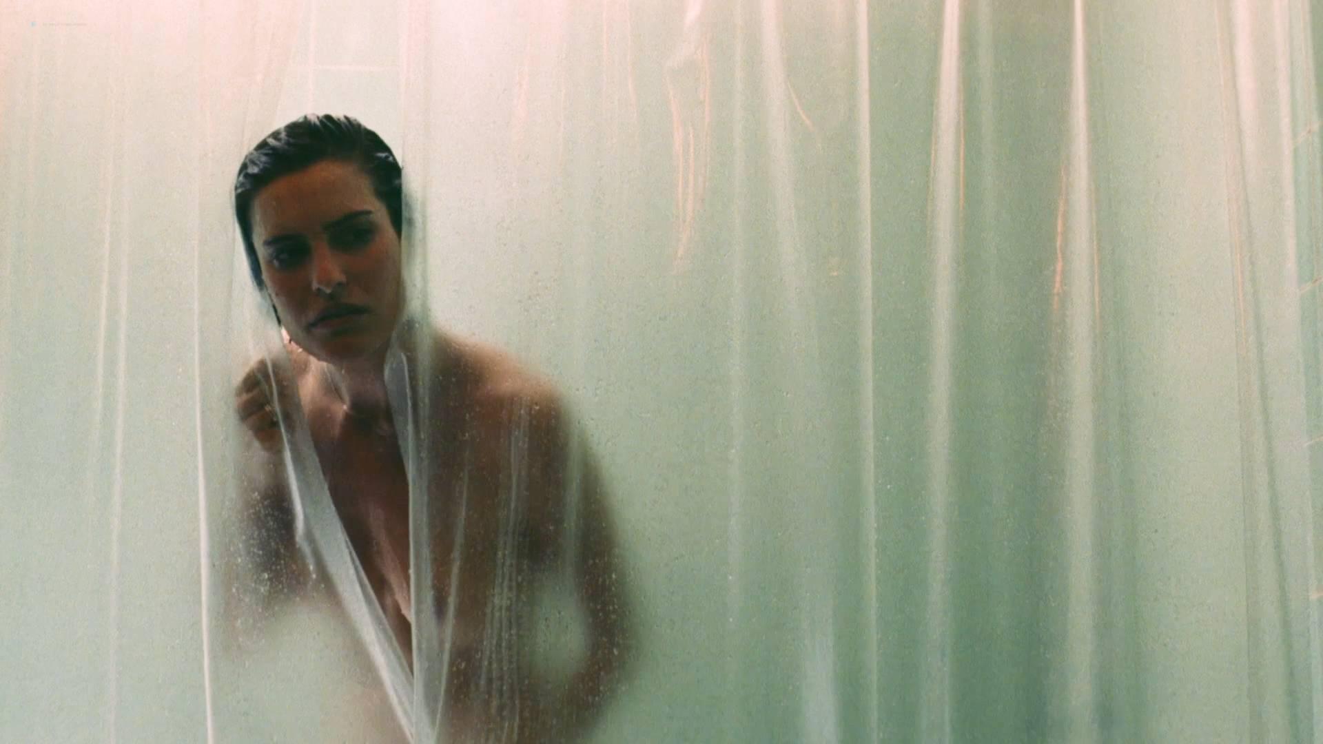 Denice Duff nude bush in the shower Melanie Shatner nude boobs - Bloodstone: Subspecies II (1993) HD 1080p BluRay (4)