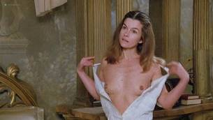 Geneviève Bujold nude topless Pamela Prati and others nude too - Monsignor (1982) (10)