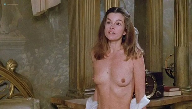 Geneviève Bujold nude topless Pamela Prati and others nude too - Monsignor (1982) (9)