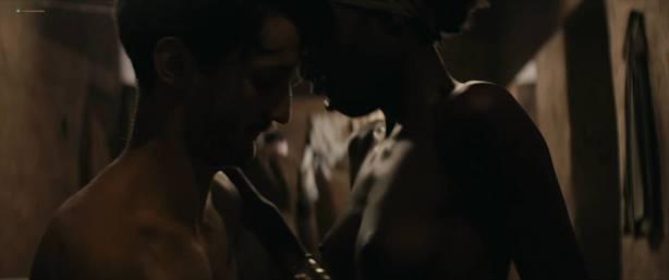 Lou Chauvain nude topless and Marana Noba nude too - La promesse de l'aube (FR-2017) HD 1080p Web (2)