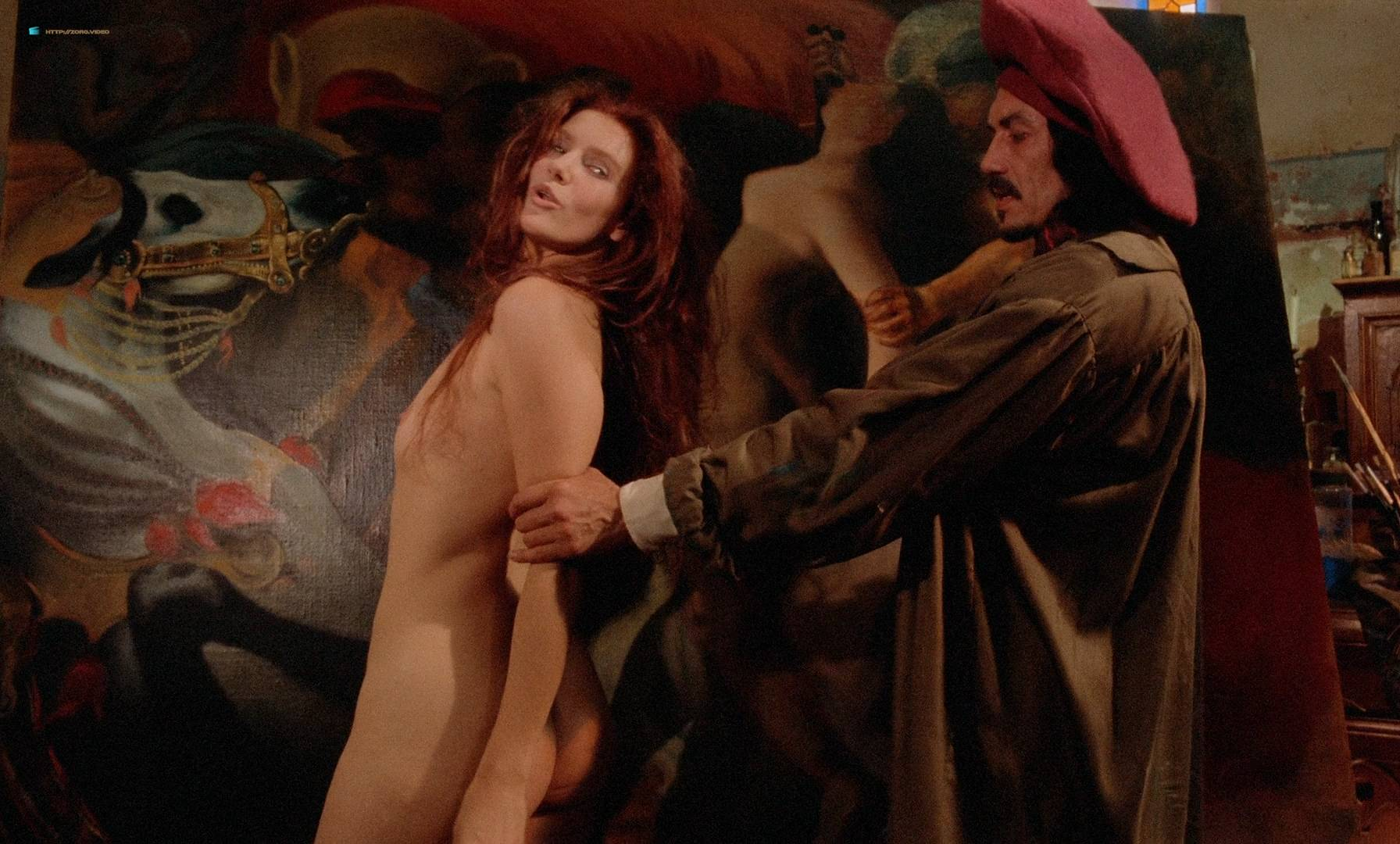 Sophie Marceau hot see through Beatrice Buchholz nude butt and boobs - La note bleue (FR-1991) HD 1080p BluRay (8)