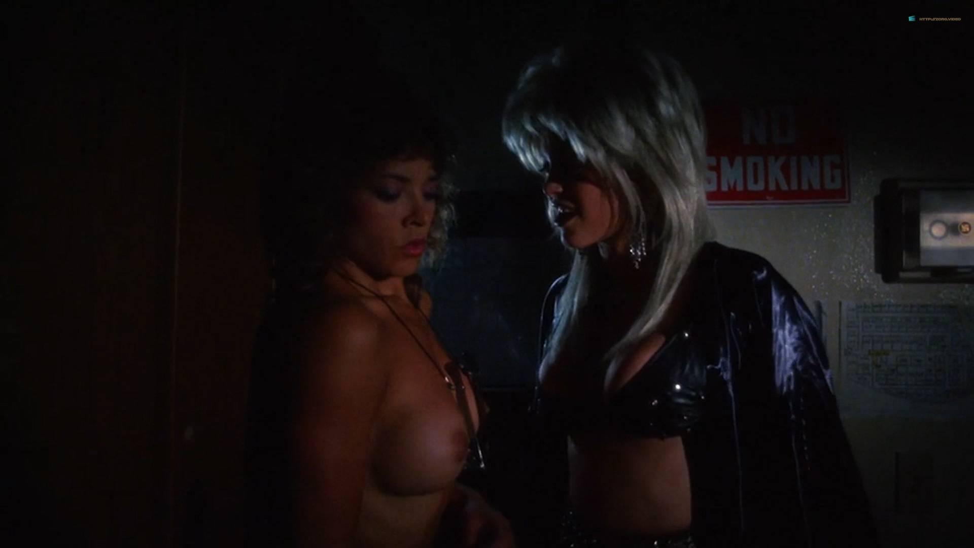 Brinke Stevens nude full frontal Michelle Bauer nude sex - Sorority Babes in the Slimeball Bowl-O-Rama (1988) HD 1080p (3)