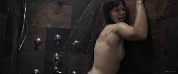 Kelsey Zukowski nude topless in bath and shower - Within These Walls (2015) HD 1080p WEB (3)