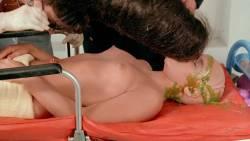 Leesa Rowland nude topless Trinity Loren and others nude too - Class of Nuke 'Em High Part II (1991) HD 720p (16)