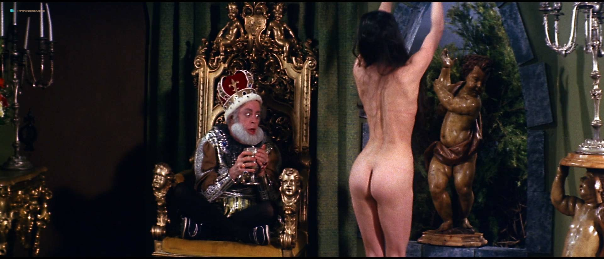 Linnea Quigley nude bush Angela Aames nude full frontal others nude - Fairy Tales (1978) HD 1080p (6)