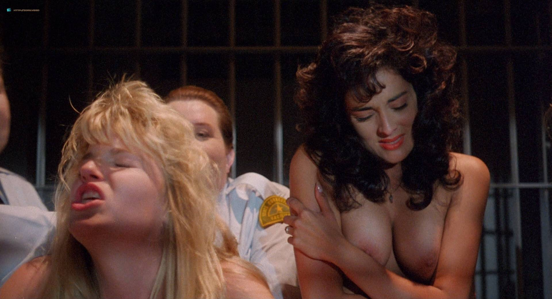 Roxanna Michaels nude Tiffany Million and others nude bush butt - Caged Fury (1989) HD 1080p BluRay (17)