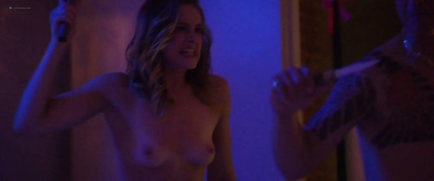 Stephanie Van Dyck nude topless others nude too - The Dark (2018) HD 1080p Web (7)