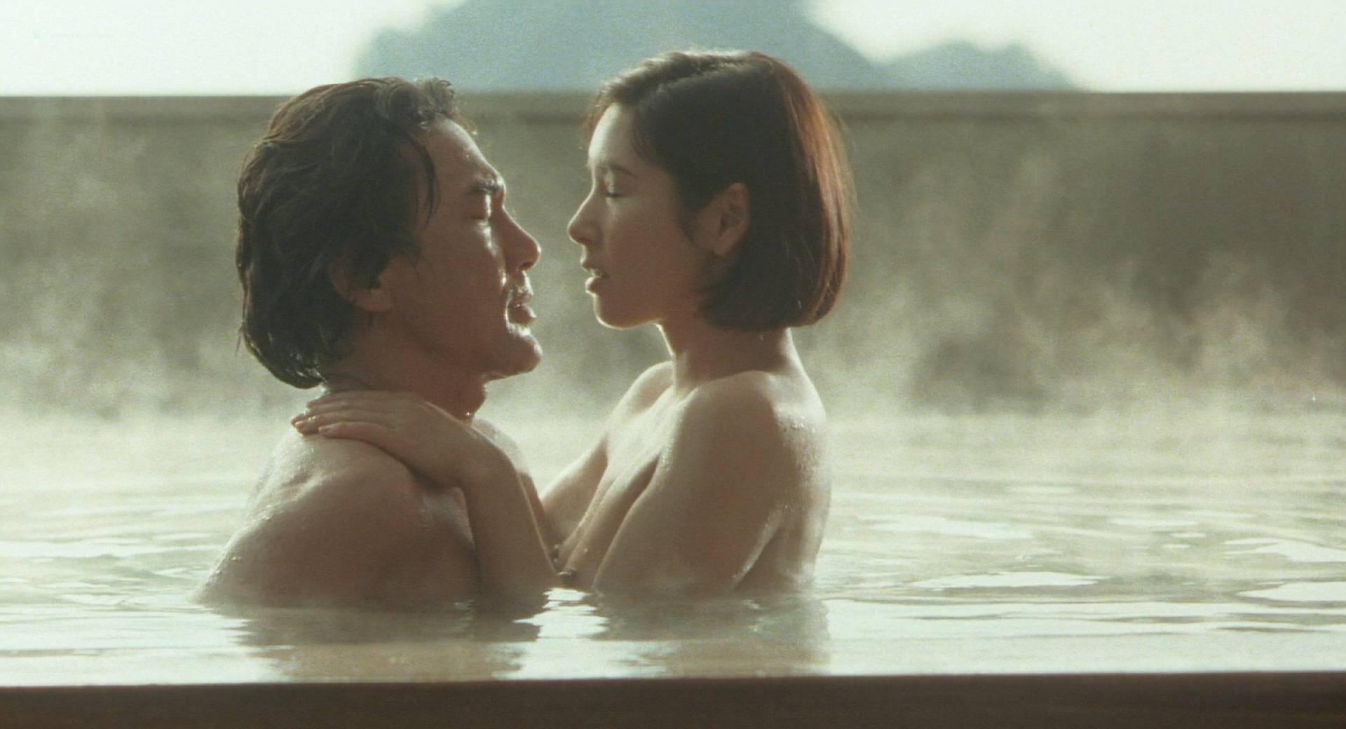 Hitomi Kuroki Nude Topless And Sex - Lost Paradise 1997 -9736