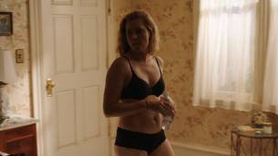 Amy Adams hot and sexy in bra and undies - Sharp Objects (2018) s1e2 HD 1080p Web (6)