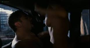 Ana Claudia Talancón nude topless and sex in the car - Fast Food Nation (2006) (3)