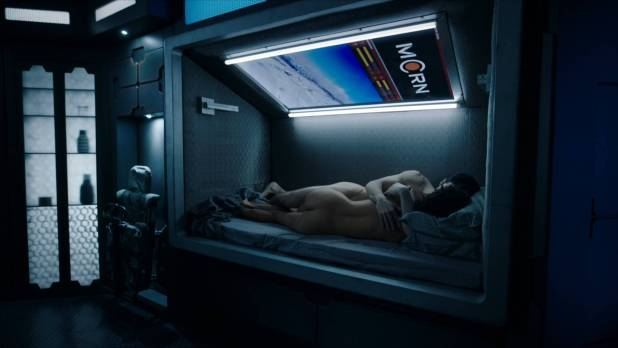 Dominique Tipper nude butt in brief scene - The Expanse (2018) s3e6 HD1080p WEB (5)
