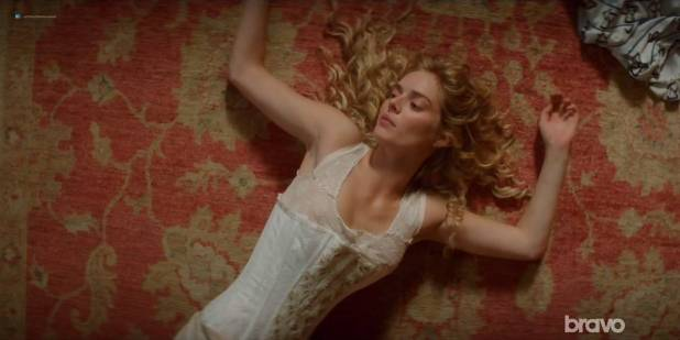 Lily Sullivan nude butt Samara Weaving and Madeleine Madden nude butt too - Picnic at Hanging Rock (2018) S01E03 HDTV 720p (3)