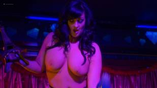 Lindsay Pattison and Genevieve Dupont nude as strippers - Another WolfCop (2017) HD 1080p