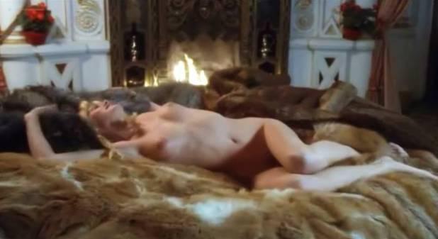 Ursula Buchfellner nude lot of sex Corinne Clery and Adriana Vega nude sex too - Last Harem (1981) (10)