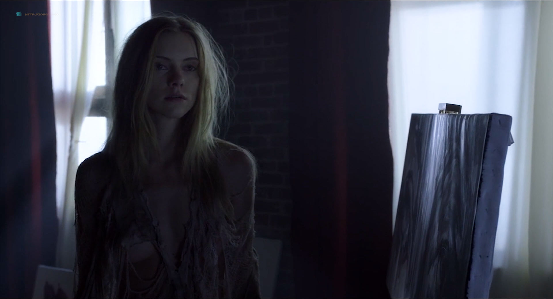Elle Evans nude topless and hot sex - Muse (2017) HD 1080p Web (16)