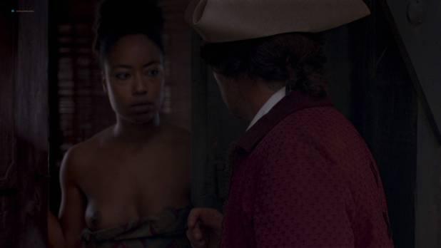 Mariana Nunes nude topless Paula Grinzspan nude - Zama (AR - 2017) HD 1080p (2)