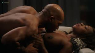 Naturi Naughton nude topless in sex scene Lela Loren nude boobs - Power (2018) s5e7 HD 1080p