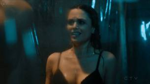 Rachel Bilson hot sexy and wet in undies and bra - Take Two (2018) s1e7 HDTV 720p (6)