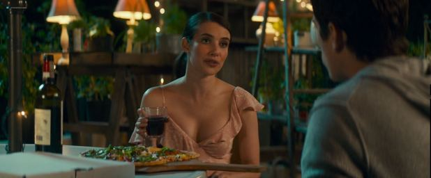 Emma Roberts hot and sexy and some sex - Little Italy (2018) HD 1080p Web (9)
