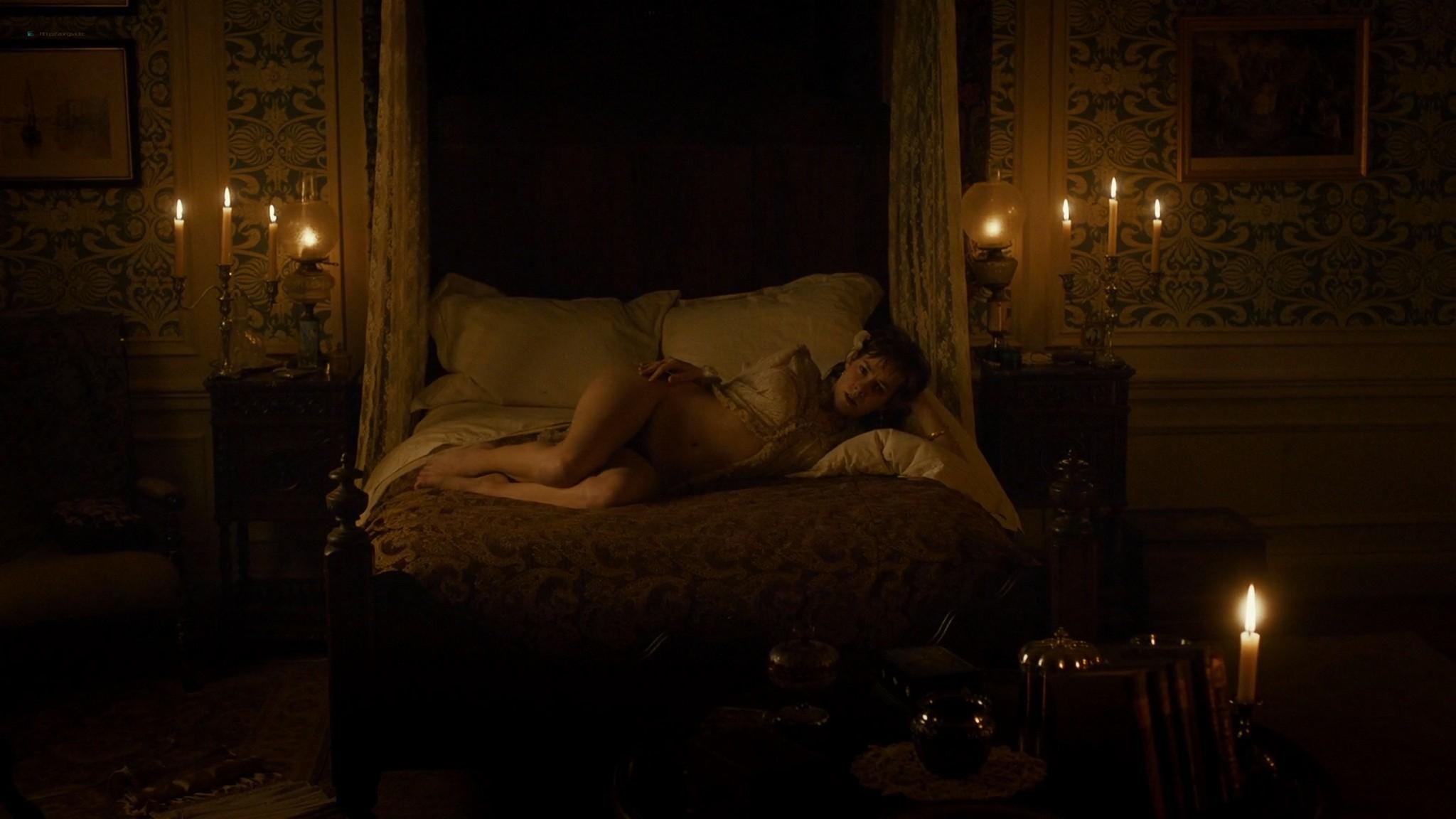 Jena Malone nude bush and sex - Angelica (2015) HD 1080p WEB (9)