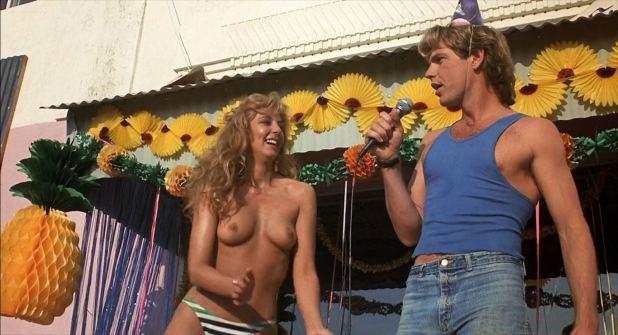 Bobbi Pavis nude topless Barbara Horan, Jeana Loring and others nude too - The Malibu Bikini Shop (1985) HD 1080p (5)